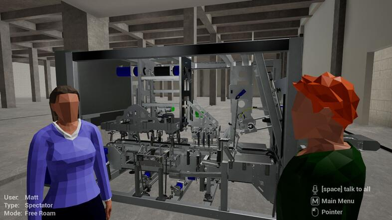 Immersive Training with VR